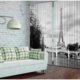 """Фотошторы """"Париж. Черно-белая фотография на память"""""""