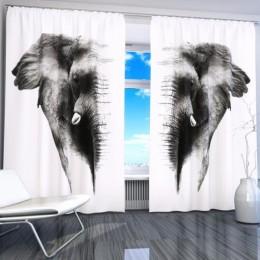 """ФотоШторы """"Слон 2"""""""
