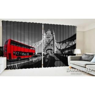 """ФотоШторы широкие """"Лондон"""""""