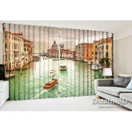 """ФотоШторы широкие """"В Венеции 3"""""""