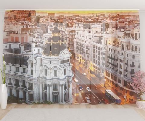 "ФотоТюль широкий ""Мадрид"""