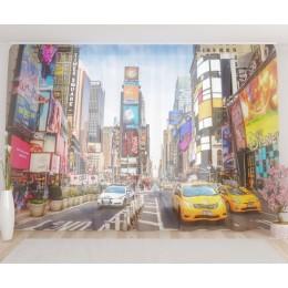 "ФотоТюль широкий ""Таймс-сквер"""