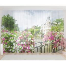 """ФотоТюль широкий """"Вид с балкона"""""""