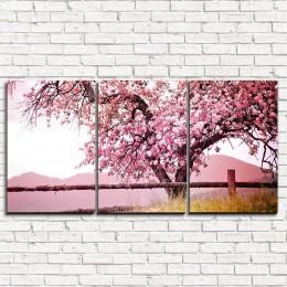 """Модульная картина """"Красивейшее дерево 3-1"""""""