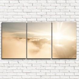 """Модульная картина """"Небесный рассвет 3-1"""""""