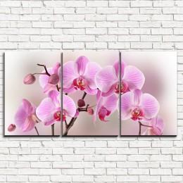 """Модульная картина """"Арка из орхидей 3-1"""""""