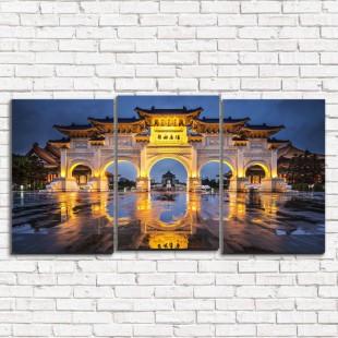 "Модульная картина ""Тайвань 3-5"""