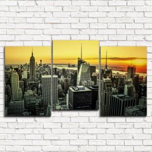 "Модульная картина ""Нью-Йорк 3-5"""