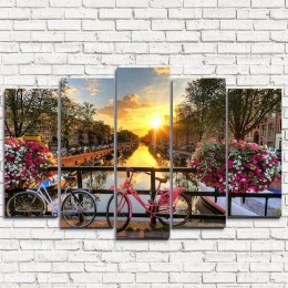 "Модульная картина ""Амстердам 5"""