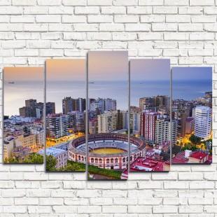 """Модульная картина """"Испания - городской пейзаж 5"""""""