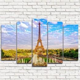 "Модульная картина ""Лето в Париже 5"""