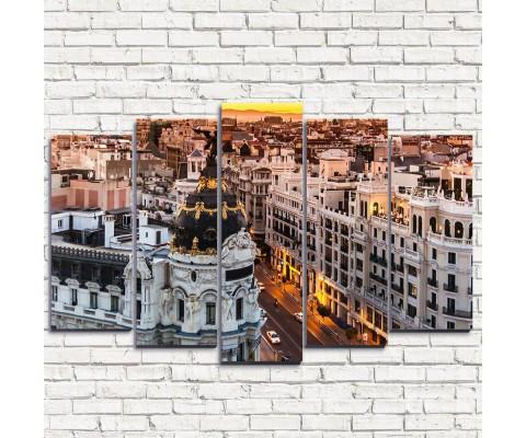 """Модульная картина """"Мадрид 5"""""""
