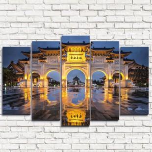 "Модульная картина ""Тайвань 5"""