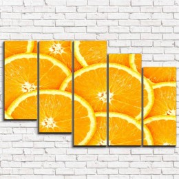 "Модульная картина ""Апельсины 5-3"""