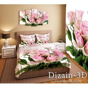 """Постельное белье """"Розовые розы"""""""