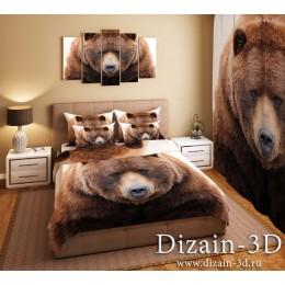 """Постельное белье """"Медведь"""""""