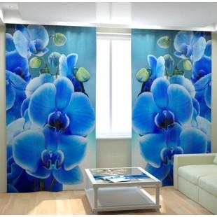 """ФотоШторы """"Голубая орхидея"""""""