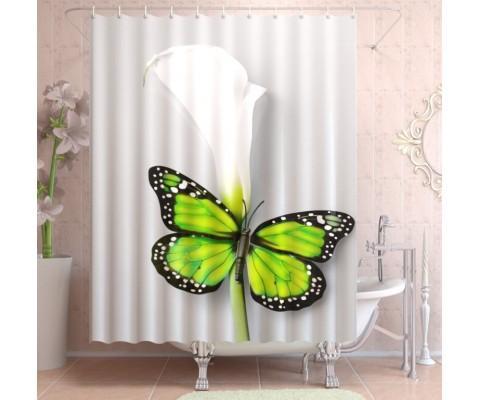 "ФотоШторы ""Зеленая бабочка"""
