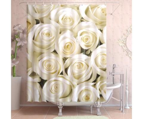 """ФотоШторы """"Белые розы"""""""