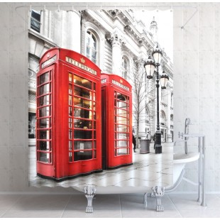 """ФотоШторы """"Телефон в Лондоне"""""""