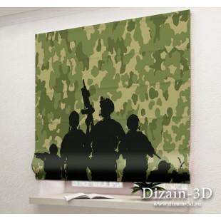 """Римские ФотоШторы """"Американский спецназ 3"""""""